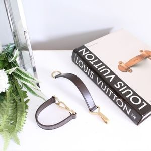 Louis Vuitton Damier Ebone Pegase Pull Strap Set 2